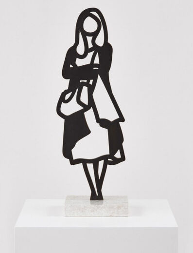 Julian Opie, 'Melbourne Statuettes –Cardigan', ca. 2018