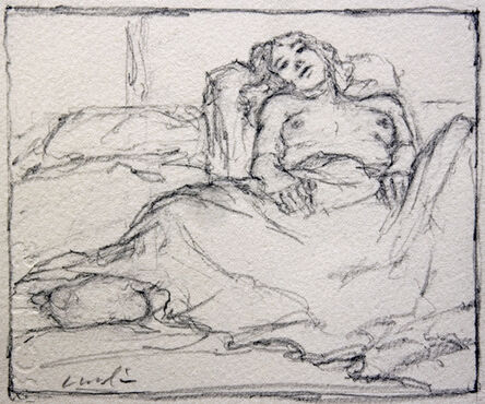 Norman Lundin, 'SALLY A. IN BED', 2010