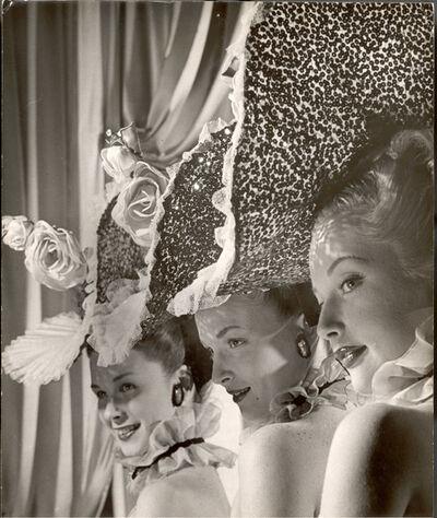 Gjon Mili, 'Three Showgirls from Latin Quarter', 1947