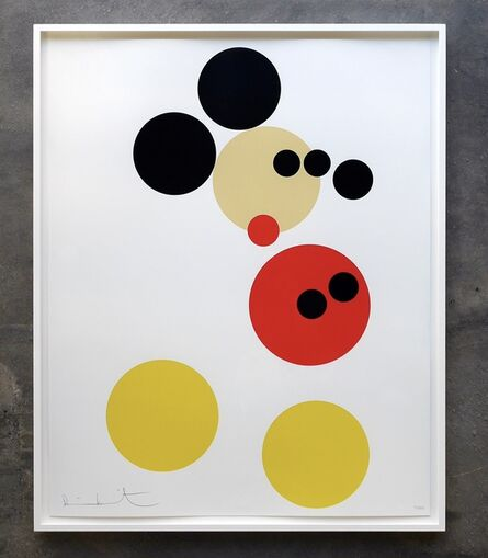 Damien Hirst, 'Mickey - small Spot print (large version also available)', 2014