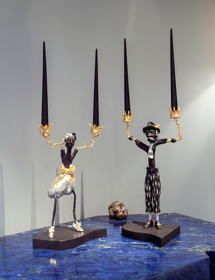 Elizabeth Garouste and Mattia Bonetti, 'Boys & Girls Candlesticks', 1994