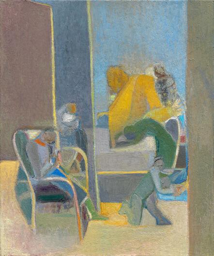 Deborah Kahn, 'Figures in an Interior Space', 2015