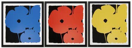 Donald Sultan, 'Big Poppies (Portfolio of 3)', 2014