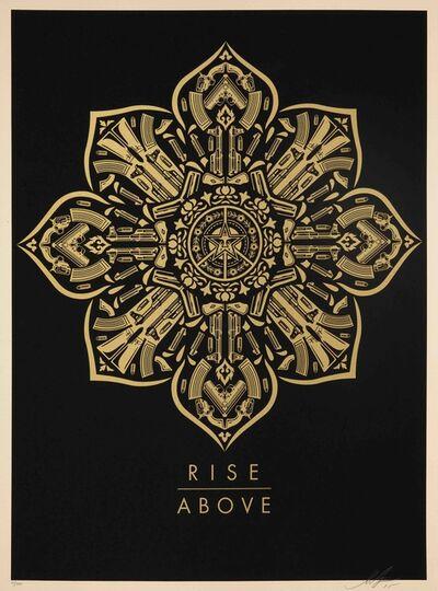 Shepard Fairey, 'Raise the Caliber - Rise Above', 2015