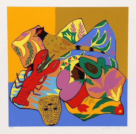 Hunt Slonem, 'Lobster', 1980