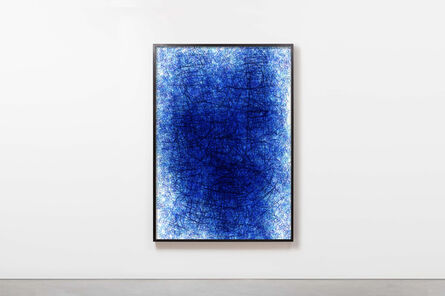 Barnaby Barford, 'Truth & Lies (Blue)', 2019
