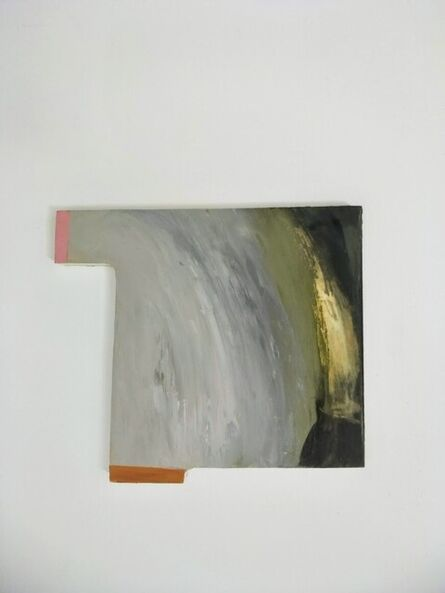 ROSE MOXHAM, 'Surfacing on the white bay (the fallen sky 2)', 2021