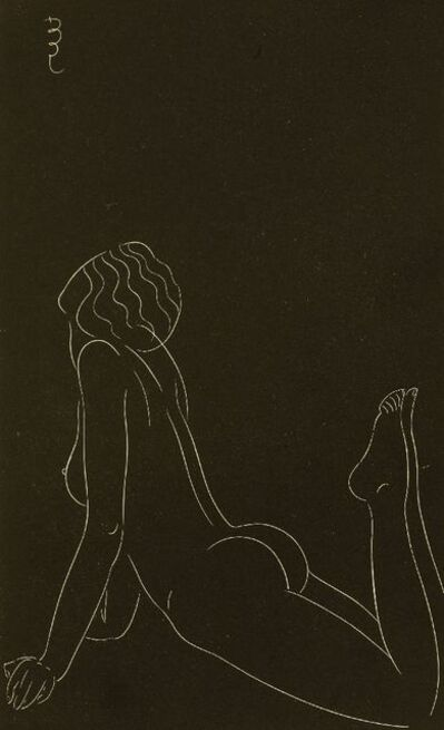 Eric Gill, 'Three Nude Studies', 1938