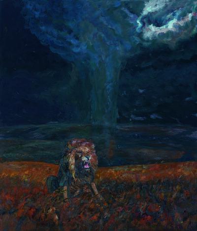 Liu Ruowang, 'Lion and Tornado', 2016