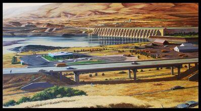 "Robert Birmelin, '""Landscape, The Dalles, Oregon""', 1974"