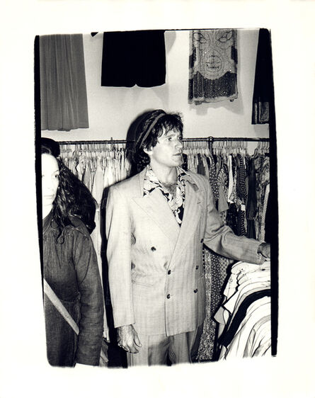 Andy Warhol, 'Andy Warhol, Photograph of Robin Williams at a Thrift Store in the Village, 1979', 1979