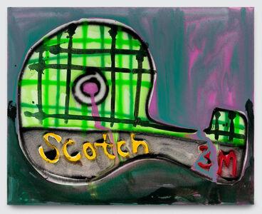 Katherine Bernhardt, 'Green Scotch Tape', 2018