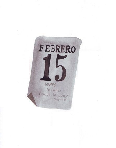 LEOPOLDO ESTOL, 'February 15th', 2016