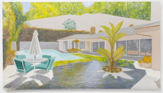 William Leavitt, 'Backyard, River, Forest', 2020