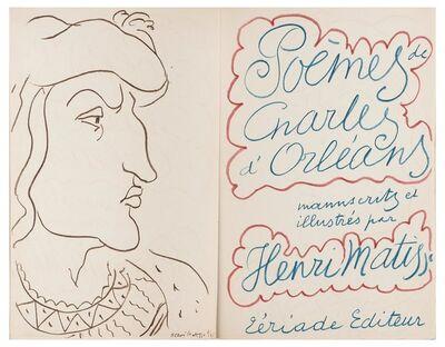 Henri Matisse, 'Poems De Charles D'Orléans (D. Books 28)', 1950