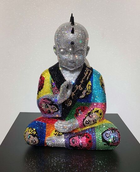 Metis Atash, 'Punk Buddha Marilyn XII feat. Warhol', ca. 2018