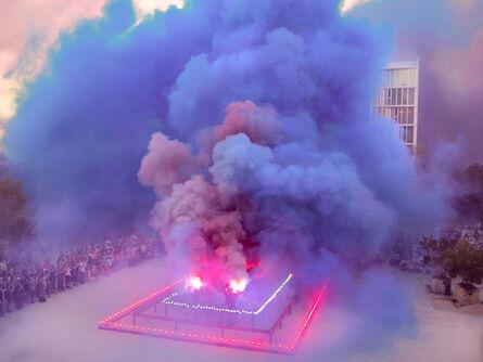 Judy Chicago, 'A Purple Poem for Miami (Commemorative Print)', 2019
