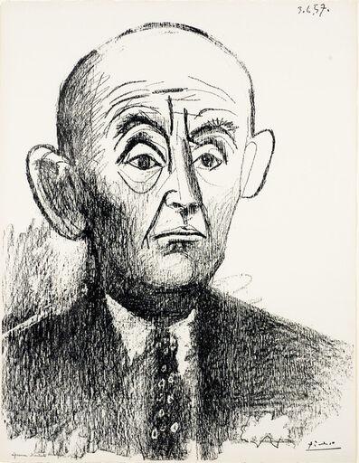 Pablo Picasso, 'Portrait de D. H. Kahnweiler I', 1957