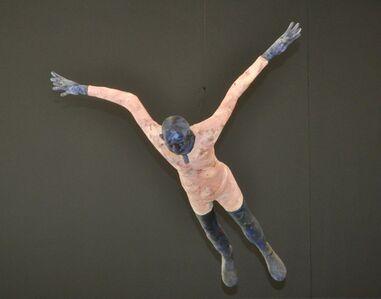 Robert Indermaur, 'Höhenflug Vogelzug', 2001