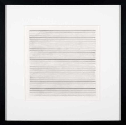 Agnes Martin, 'Untitled VII', 1991