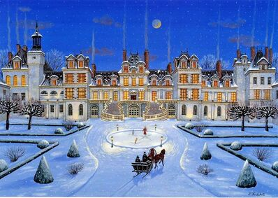 Liudmila Kondakova, 'Fontainebleau (Chateaux)', 1996