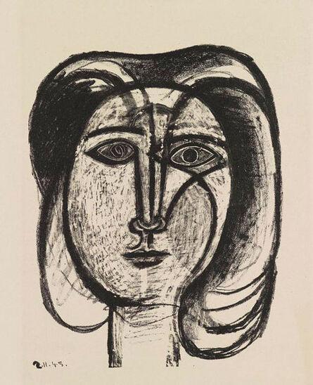 Pablo Picasso, 'Tete de Femme ', 1945