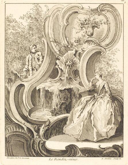 Antoine Aveline, 'Le Rendez-vous', 1736