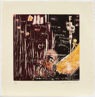 Joan Snyder, 'Things Have Tears and We Know Suffering', 1984