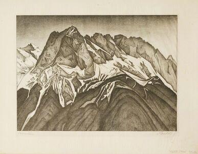 Alexander Kanoldt, 'WAXENSTEIN', 1928
