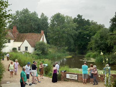 Simon Roberts, 'Willy Lott's House at Flatford, East Bergholt, Suffolk, 20 July 2014', 2014