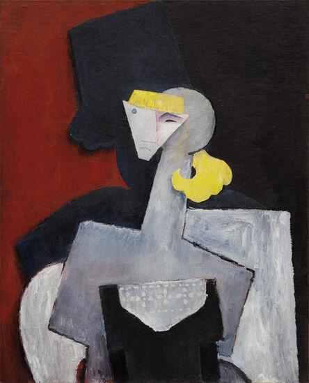Diego Rivera, 'Retrato de Marevna (Portrait of Marevna)', 1916