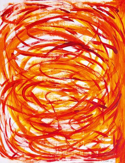 Sarit Lichtenstein, 'Language in Orange and Red', 2006