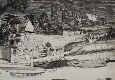 Michael Rothenstein, 'The Bridge at Finchingfield', ca. 1941