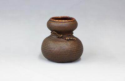 Kosuge Kōgetsu, 'Gourd-Shaped Flower Basket', 1970-1989