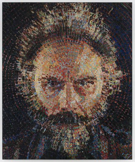 Chuck Close, 'Lucas/Mosaic', 2019