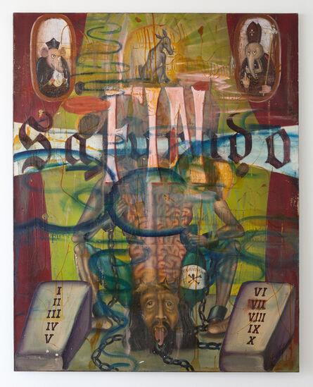 Manuel Ocampo, 'Saturado', 1995