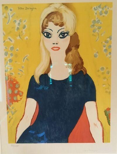 Kees van Dongen, 'Brigitte Bardot', 1964