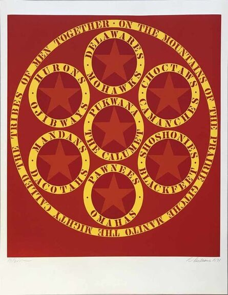 Robert Indiana, 'Decade (The Calumet)', 1971