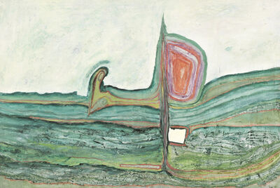 Friedensreich Hundertwasser, 'The Chord Under the Loupe', 1958