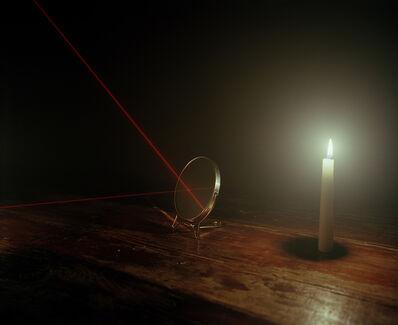 Adam Ekberg, 'Candle, mirrors, and laser', 2014