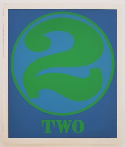 """Robert Indiana, 'Numbers Suite: """"Two""""', 1968"""
