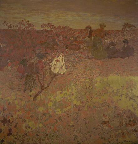 Édouard Vuillard, 'Walking in the Vineyard ', ca. 1897-1899