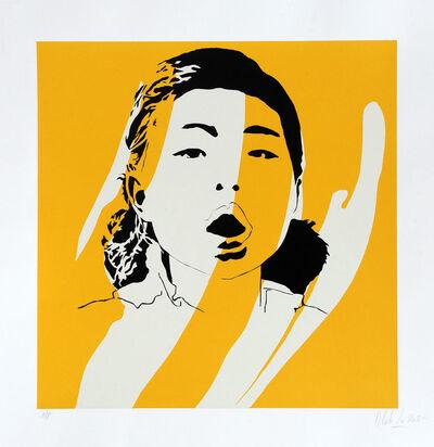 Blek le Rat, 'Dream But Don't Sleep (Yellow)', 2007