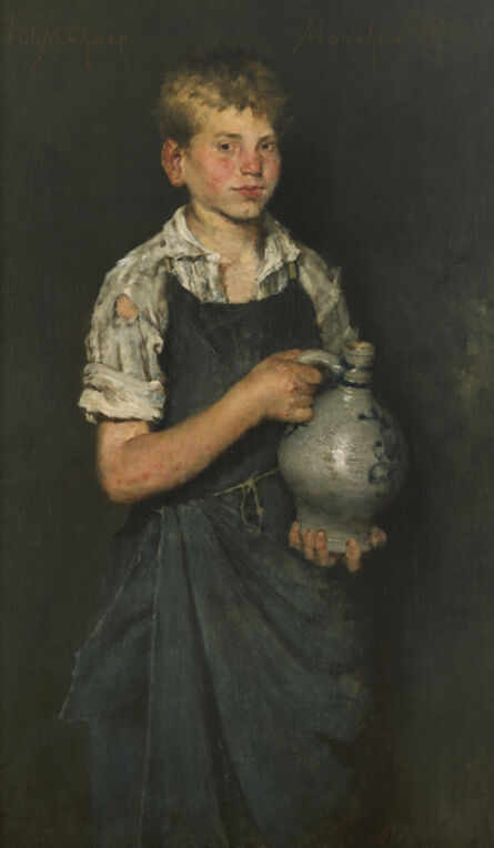 William Merritt Chase, 'Apprentice', 1875