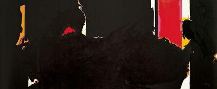 Robert Motherwell, 'Face of the Night (for Octavio Paz)', ca. 1977–79/1981