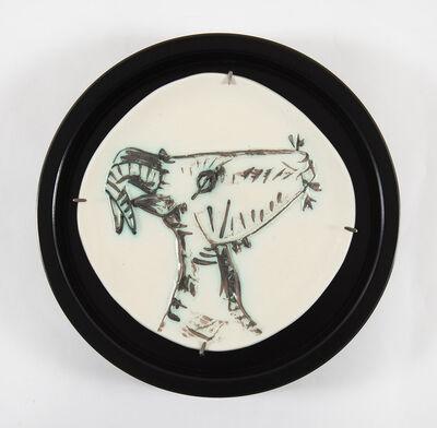 Pablo Picasso, 'Tête de chèvre de profil (A.R.109)', 1950