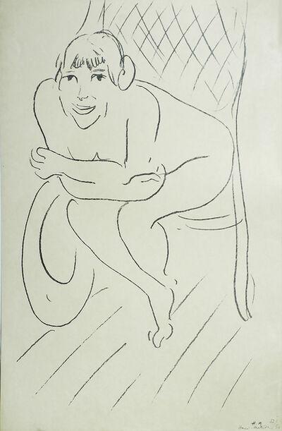 Henri Matisse, 'Nude in a Rocking Chair (Nu au Rocking Chair)', 1913