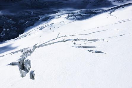 Jacques Pugin, 'La montagne s'ombre # 45, Vers le Glacier d'Aletsch,  Near Aletsch Glacier Switzerland', 2008
