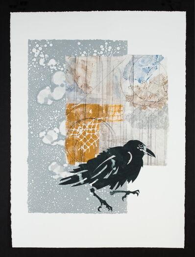 Ramona Sakiestewa, 'Raven Walks the Milky Way', 2021