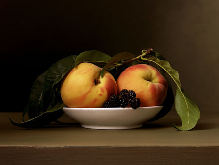 Sharon Core, 'Early American, Peaches and Blackberries', 2008